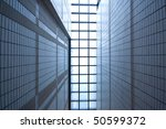 it is a modern building in hong ... | Shutterstock . vector #50599372