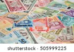 variety of the african banknotes | Shutterstock . vector #505999225
