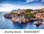 The General View Of Dubrovnik ...