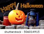 halloween pumpkin  | Shutterstock . vector #506014915