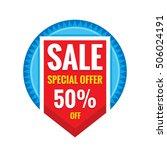 sale vector banner design  ...   Shutterstock .eps vector #506024191