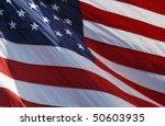 closeup of american flag... | Shutterstock . vector #50603935