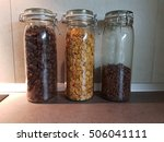 cereals in bottles   Shutterstock . vector #506041111
