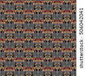 seamless vector mosaic... | Shutterstock .eps vector #506042041