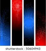 fireworks banners for... | Shutterstock .eps vector #50604943