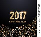 2017 new year card | Shutterstock .eps vector #506089681