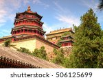 the imperial summer palace in... | Shutterstock . vector #506125699