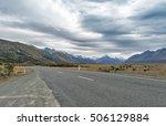 mount cook road  state highway... | Shutterstock . vector #506129884