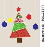 vector illustration of a... | Shutterstock .eps vector #506138944