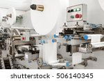 industrial factory plant for... | Shutterstock . vector #506140345