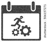 running worker calendar day...   Shutterstock .eps vector #506157271