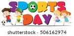 Sport Day Theme With Kids...