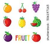 fruits | Shutterstock .eps vector #506197165