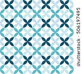 seamless geometric pattern... | Shutterstock .eps vector #506197495