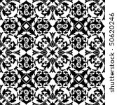 decorative black and white... | Shutterstock .eps vector #50620246