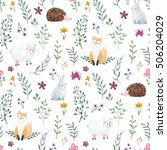 Watercolor Pattern For Childre...