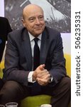 Small photo of PARIS, FRANCE - MARCH 3, 2016 - The French politician Alain Juppe at the Paris International Agricultural Show 2016.