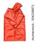 raincoat isolated on white...   Shutterstock . vector #506238871