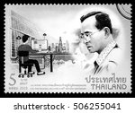 thailand   circa 2016  a thai...   Shutterstock . vector #506255041