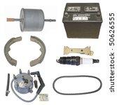 automotive parts   Shutterstock . vector #50626555