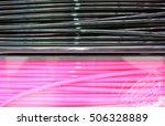3d printing filament spools | Shutterstock . vector #506328889