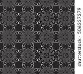 complex geometric ornament....   Shutterstock .eps vector #506337379
