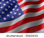 us flag   Shutterstock . vector #5063410