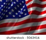 us flag | Shutterstock . vector #5063416