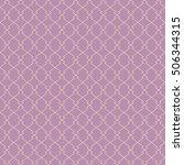 vector seamless geometric line... | Shutterstock .eps vector #506344315