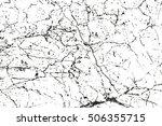 distressed overlay texture of... | Shutterstock .eps vector #506355715