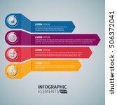 horizontal bar chart template | Shutterstock .eps vector #506372041