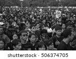 bangkok thailand   oct 22 2016  ... | Shutterstock . vector #506374705