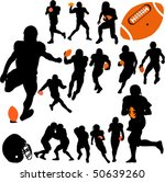 american football vector | Shutterstock .eps vector #50639260