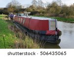 View Of A Narrow Boat On The...