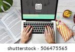 browser history web technology... | Shutterstock . vector #506475565