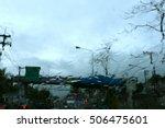 blur focus blur people in... | Shutterstock . vector #506475601