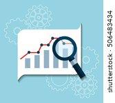 search engine optimization flat ... | Shutterstock .eps vector #506483434
