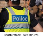 victoria police strong | Shutterstock . vector #506484691