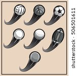 set of vector patterns for... | Shutterstock .eps vector #506501611