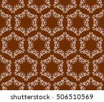 chocolate color. abstract...   Shutterstock .eps vector #506510569