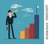 business growth   Shutterstock .eps vector #506512057
