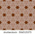 seamless sophisticated... | Shutterstock .eps vector #506515375