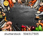 Fresh Seafood. A Wide Range Of...