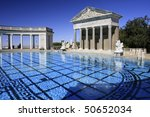 Hearst Castle Outdoor Pool ...