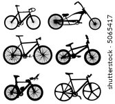 bicycle vector | Shutterstock .eps vector #5065417