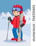 flat design vector illustration ...   Shutterstock .eps vector #506550601