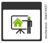 realty developer calendar page... | Shutterstock . vector #506574457