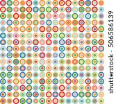 abstract circle background.... | Shutterstock .eps vector #506586139