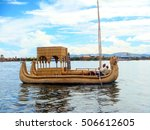 titicaca  peru   dezember 2011  ... | Shutterstock . vector #506612605