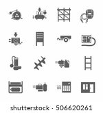 electric equipment and...   Shutterstock .eps vector #506620261